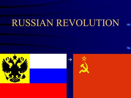 RUSSIAN REVOLUTION . By the 20 th Century A major crisis was due and had to happen Russia was an unfair society and needed social, economic and political.