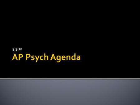 How to Rock your AP Psych FRQ