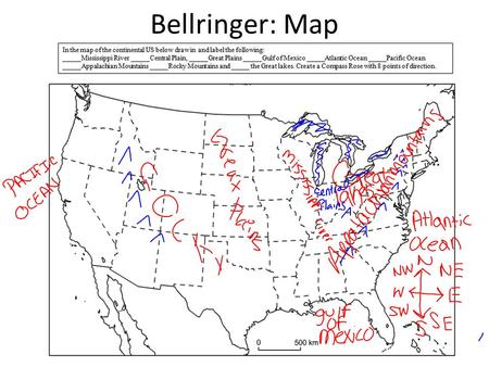 Bellringer: Map. To increase a nation's supply of gold <strong>and</strong> silver. A person who agreed to work for 7 years in America in exchange for a ticket across.