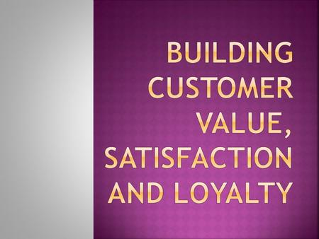 " CUSTOMER IS THE KING OF THE MARKET.  CUSTOMER CENTRIC APPROACH  CUSTOMER = ""PROFIT CENTRE FOR THE BUSINESS"""