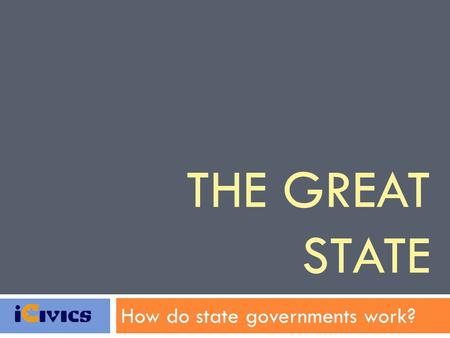 How do state governments work?