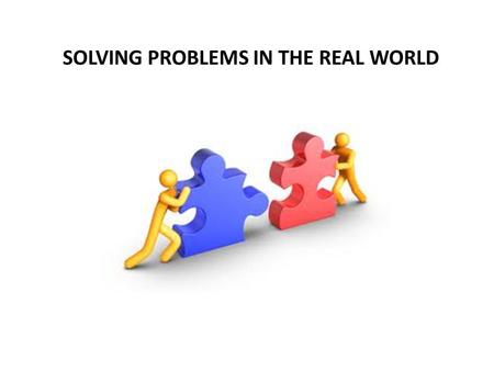 SOLVING PROBLEMS IN THE REAL WORLD. THE UNITED NATIONS Founded in 1945 at end of WWII World governments saw how the League of Nations failed, tens of.