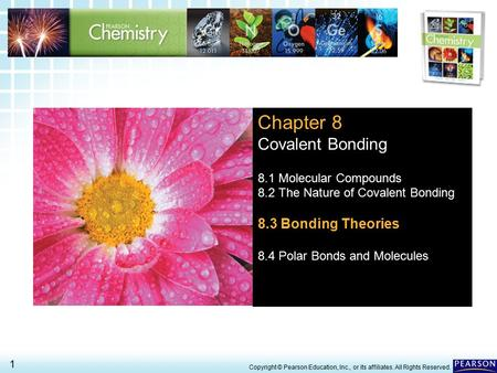Chapter 8 Covalent Bonding 8.3 Bonding Theories