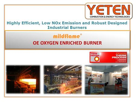 OE OXYGEN ENRICHED BURNER
