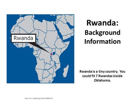 Rwanda: Background Information