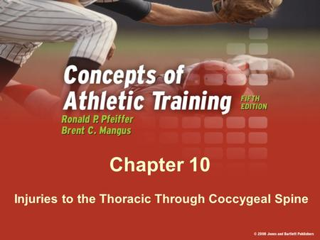 Injuries to the Thoracic Through Coccygeal Spine