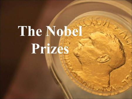 The Nobel Prizes. Sweden is … … a country in Scandinavia where the ceremony of awarding the Nobel Prizes takes place. Alfred Nobel is … a Swedish engineer.