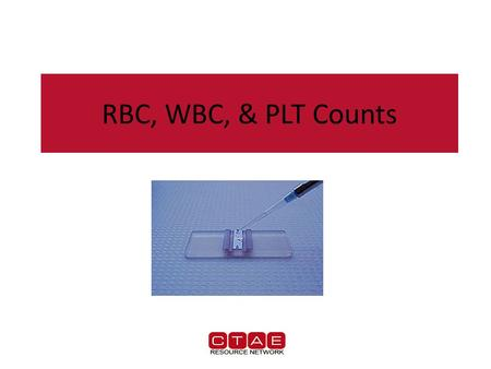RBC, WBC, & PLT Counts. Hemacytometers Hemacytometers  a precision-made slide for performing manual cell counts with the aid of a microscope. Hemacytometers.