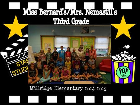 Millridge Elementary 2014-2015. Caitlin Bernard My voic is 440-995- 7267.