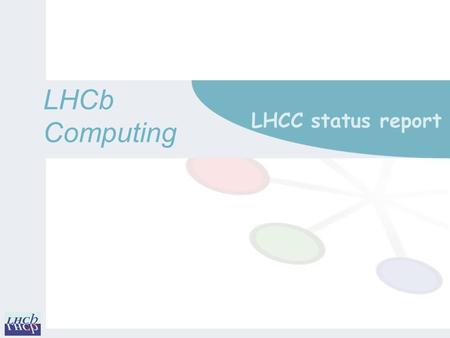 LHCbComputing LHCC status report. Operations June 2014 to September 2014 2 m Running jobs by activity o Montecarlo simulation continues as main activity.