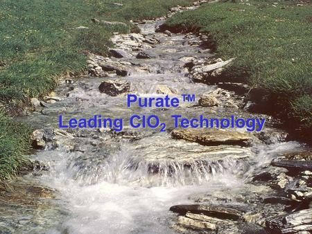 Leading ClO2 Technology