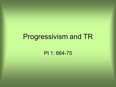 an introduction to the origins of progressivism in the late 1800s During the late 1800s and early 1900s progressive reformers essays (late 1800s-early 1900s) history 20th century american history progressive era 2.