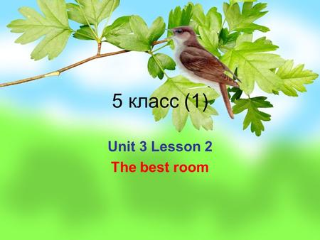 5 класс (1) Unit 3 Lesson 2 The best room. Повторение Living room at home Dining room flat Bedroom street Bathroom guest Kitchen for example Toilet Sunday.