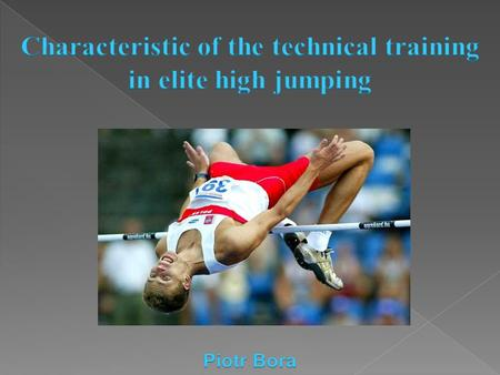  Many coaches think that is strictly connection between the level of technique and sport results  Teaching and improving of the technique means that.