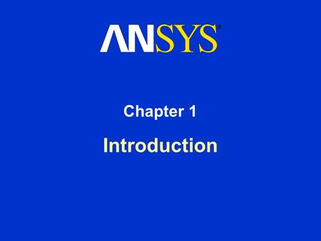 Introduction Chapter 1. Training Manual March 15, 2001 Inventory #001445 1-2 Prerequisites Prerequisites for the Heat Transfer Seminar include: –Successful.