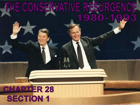 What spurred the rise of conservatism in the late 1970s and early 1980s?
