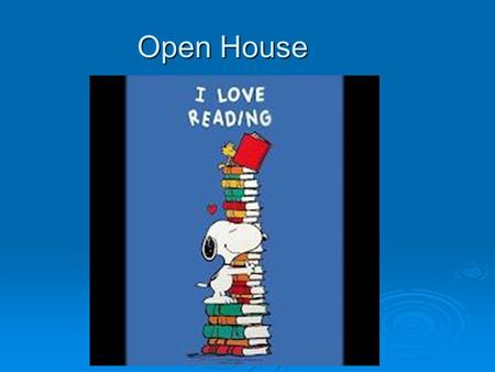 Open House.  Daily Schedule (agenda on board ) Stop, Drop, & Copy (homework given) Stop, Drop, & Copy (homework given) Warm up: journal writing, grammar,