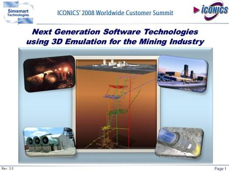 Page 1 Next Generation Software Technologies using 3D Emulation for the Mining Industry Rev. 3.0.