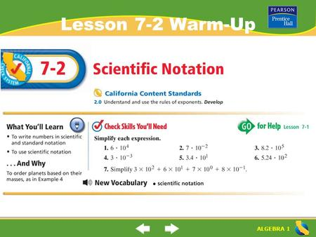 how to add and subtract scientific notation without a calculator