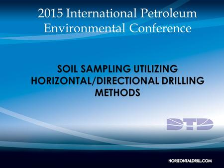 2015 International Petroleum Environmental Conference