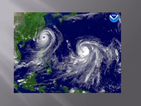 Typhoon? Hurricane?. Typhoon? Hurricane? Typhoon Hurricane Tropical cyclones in the Northwest Pacific Ocean west of the International Date Line Tropical.