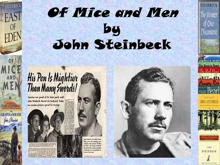 john steinbeck 5 essay Get help on 【 john steinbeck essay 】 on graduateway huge assortment of free essays & assignments the best writers.