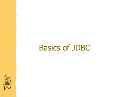 Basics of JDBC. Overview What is JDBC? Why need an application other than DBMS? How JDBC can help? JDBC Steps Transactions in JDBC JDBC Drivers Summary.