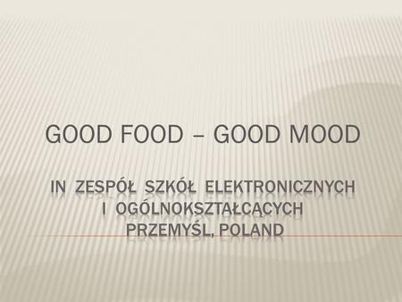 GOOD FOOD – GOOD MOOD. Film Night with films about food.
