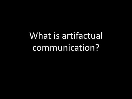 artifactual communication View machine as a collection of communicating processors – balancing the   artifactual communication caused by program implementation and architectural.