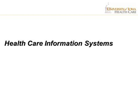 Health Care Information Systems. HCIS Operations Clinical Systems  55 FTE  INFORMM  INFORMM Patient Record ( IPR)  Nursing Documentation System 