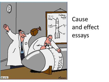 cause and effect essay ppt video online  cause and effect essays children watch a lot of tv they don t study