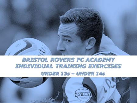 As well as a players technical and tactical development, their physical development is paramount if they are to progress later in their footballing career.