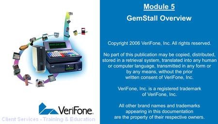 Module 5 GemStall Overview