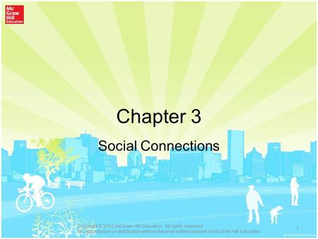 Chapter 3 Social Connections