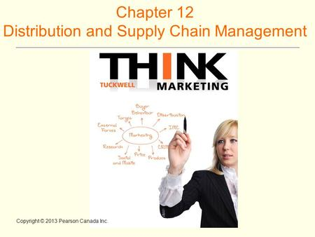 Chapter 12 Distribution and Supply Chain Management Copyright © 2013 Pearson Canada Inc.