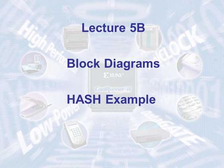 Lecture 5B Block Diagrams HASH Example. Structure of a Typical Digital System Datapath (Execution Unit) Controller (Control Unit) Data Inputs Data Outputs.