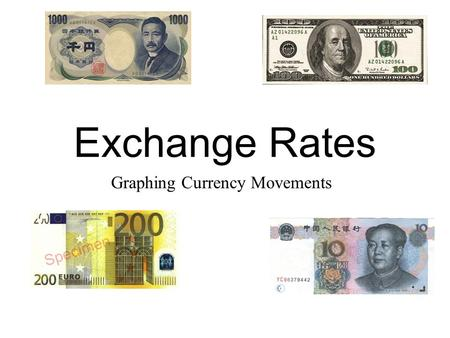 Graphing Currency Movements