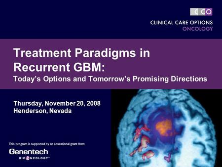 treatment options in recurrent gbm research This review introduces these new targeted therapies in the context of current treatment options for patients with gbm patients with recurrent gbm treated with a.
