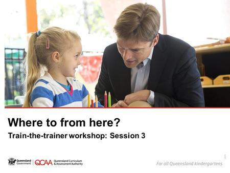 Where to from here? Train-the-trainer workshop: Session 3 14878.