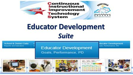 Educator Development Suite. Kentucky Department of Education Professional Growth and Effectiveness System Teacher Effectiveness Observation Peer Observation.