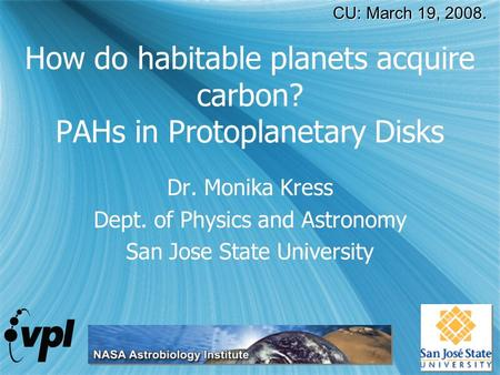 How do habitable planets acquire carbon? PAHs in Protoplanetary Disks
