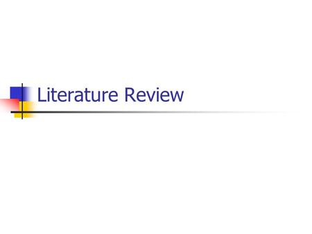 Literature Review. Terminology Authentic Materials –Texts (written or spoken) designed for native speakers (Harmer 1991) –Text not specifically produced.