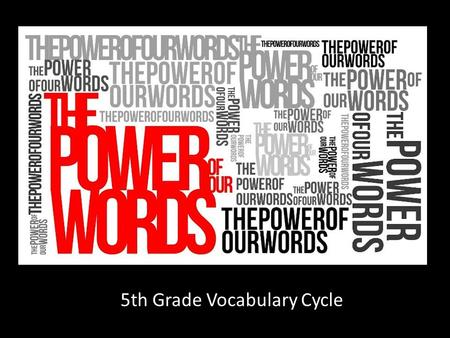 5th Grade Vocabulary Cycle. Prediction PREDICTION Why did you ____________ that I did not like lemon pie just because I ordered apple pie?