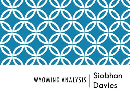 WYOMING ANALYSIS Siobhan Davies. SOURCES There are 2 main sources of ideas that come together in Wyoming;  The Wyoming Landscape  Short Stories by Gretel.