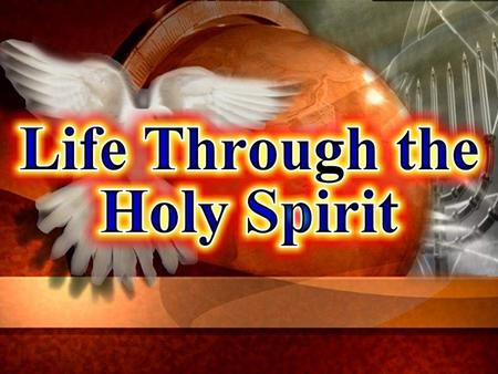"Memory Text: ""It is the spirit that quickeneth; the flesh profiteth nothing: the words that I speak unto you, they are the spirit, and they are life"""