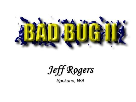 Jeff Rogers Spokane, WA. Imagine, you're sitting in the stands watching your favorite V-8 powered muscle cars tearing up the drag strip and then you hear.
