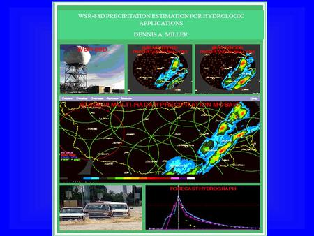 WSR-88D PRECIPITATION ESTIMATION FOR HYDROLOGIC APPLICATIONS DENNIS A. MILLER.