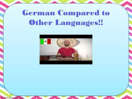 German Compared to Other Languages!!