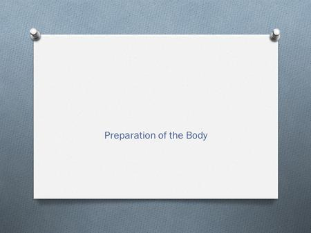 Preparation of the Body. Quick Question O Describe, in detail, a complex skill or technique from an activity of your choice. O (4 marks) O