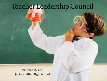 October 13, 2011 Jacksonville High School. For your time and expertise in the areas of curriculum and instruction For helping OCS take the next steps.